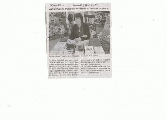 Dédicace à Trégunc 7 mai 2011