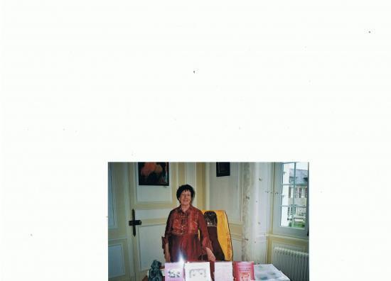 Mai 2010 dans un salon du château