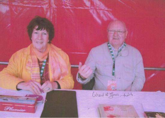 BOTMEUR - salon du Livre - MAI 2011 avec Gérard LE GOUIC